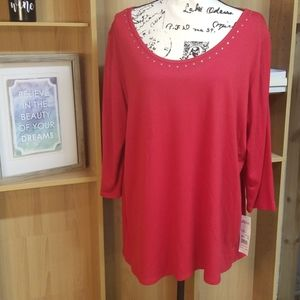 NWT Notations Blouse